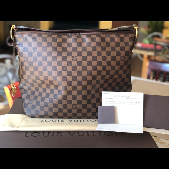 Louis Vuitton Handbags - Louis Vuitton Delightful MM Hobo Bag